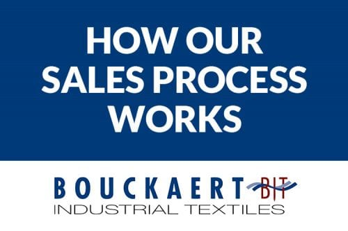 How the Bouckaert Industrial Textiles sales process works